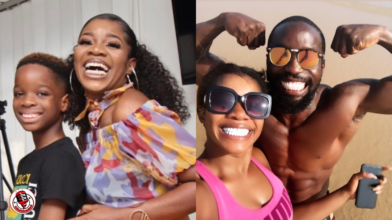 Reactions as Wizkid's first baby mama, Shola Ogudu flaunts her new man