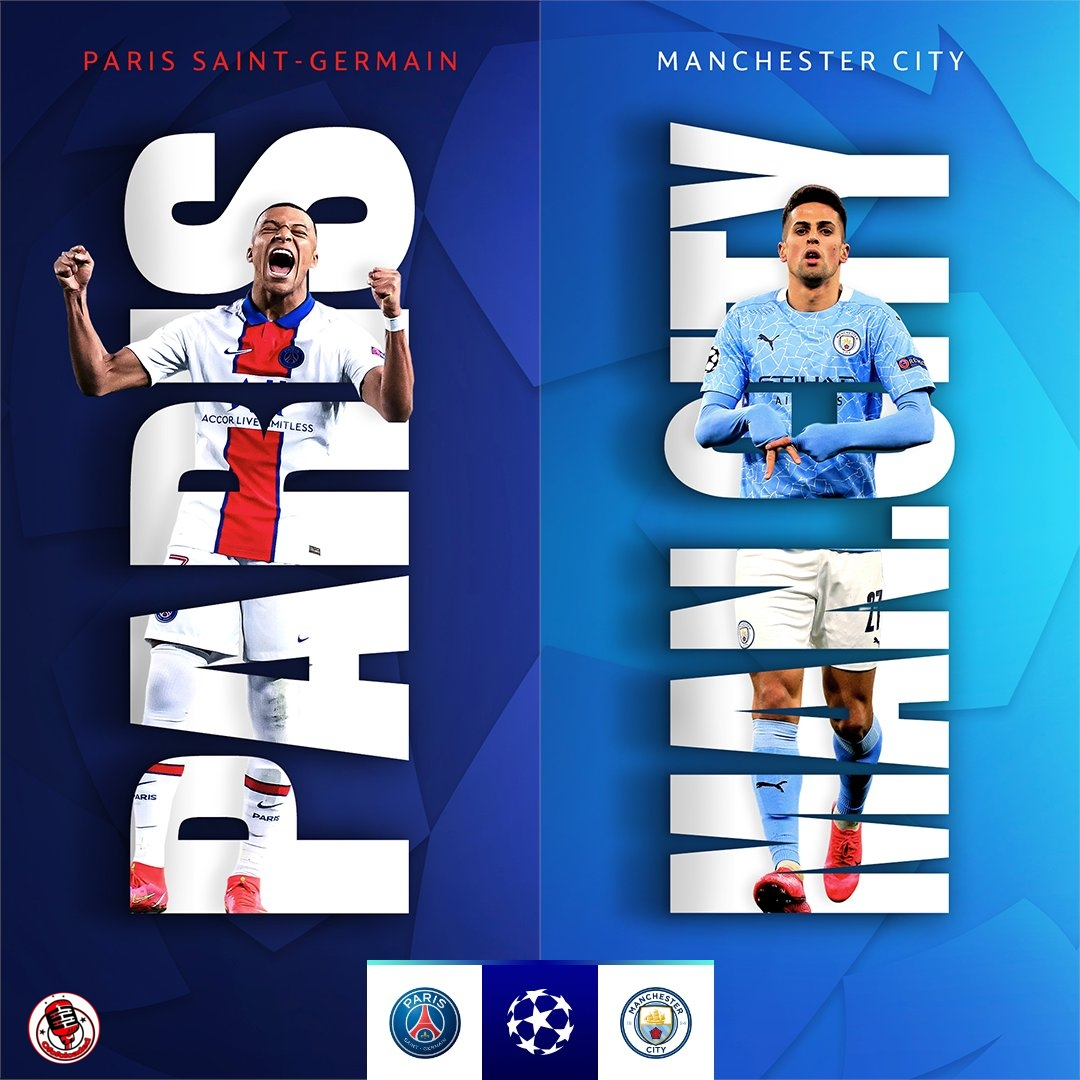 STREAM LIVE: PSG Vs Manchester City [Watch Now] CHAMPIONS LEAGUE 2021 #PSGMCI #UCL #football min