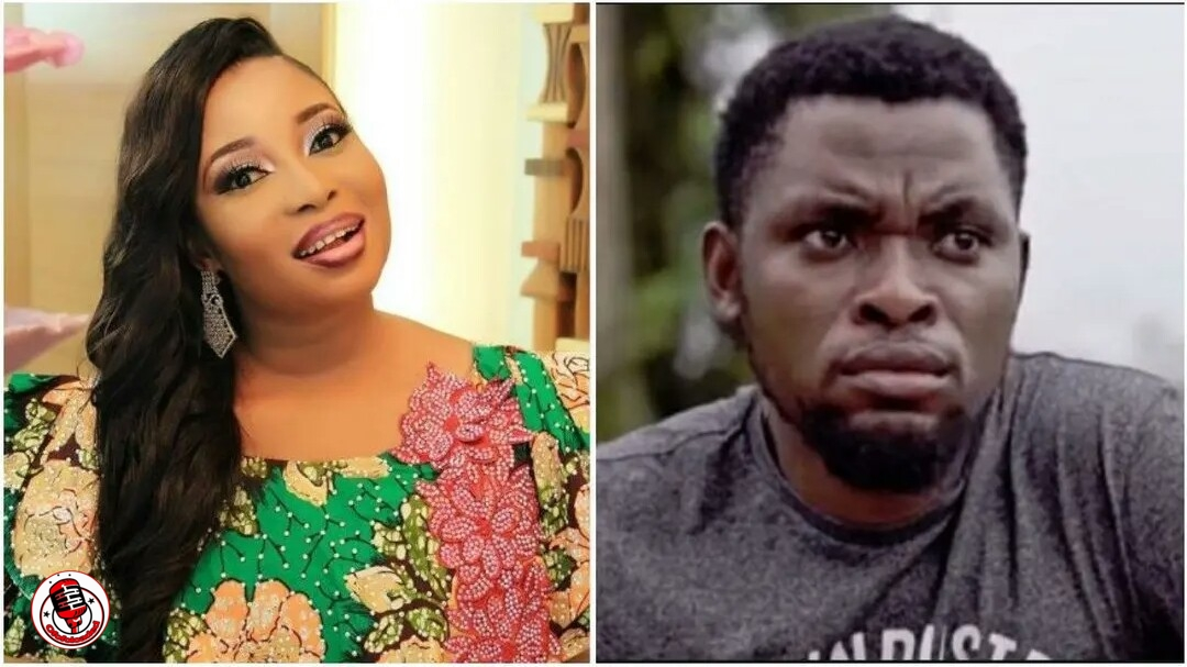 Actress, Lizzy Anjorin Calls Out Comedian, Mark Angel, Threatens to Expose His Criminal Ways min