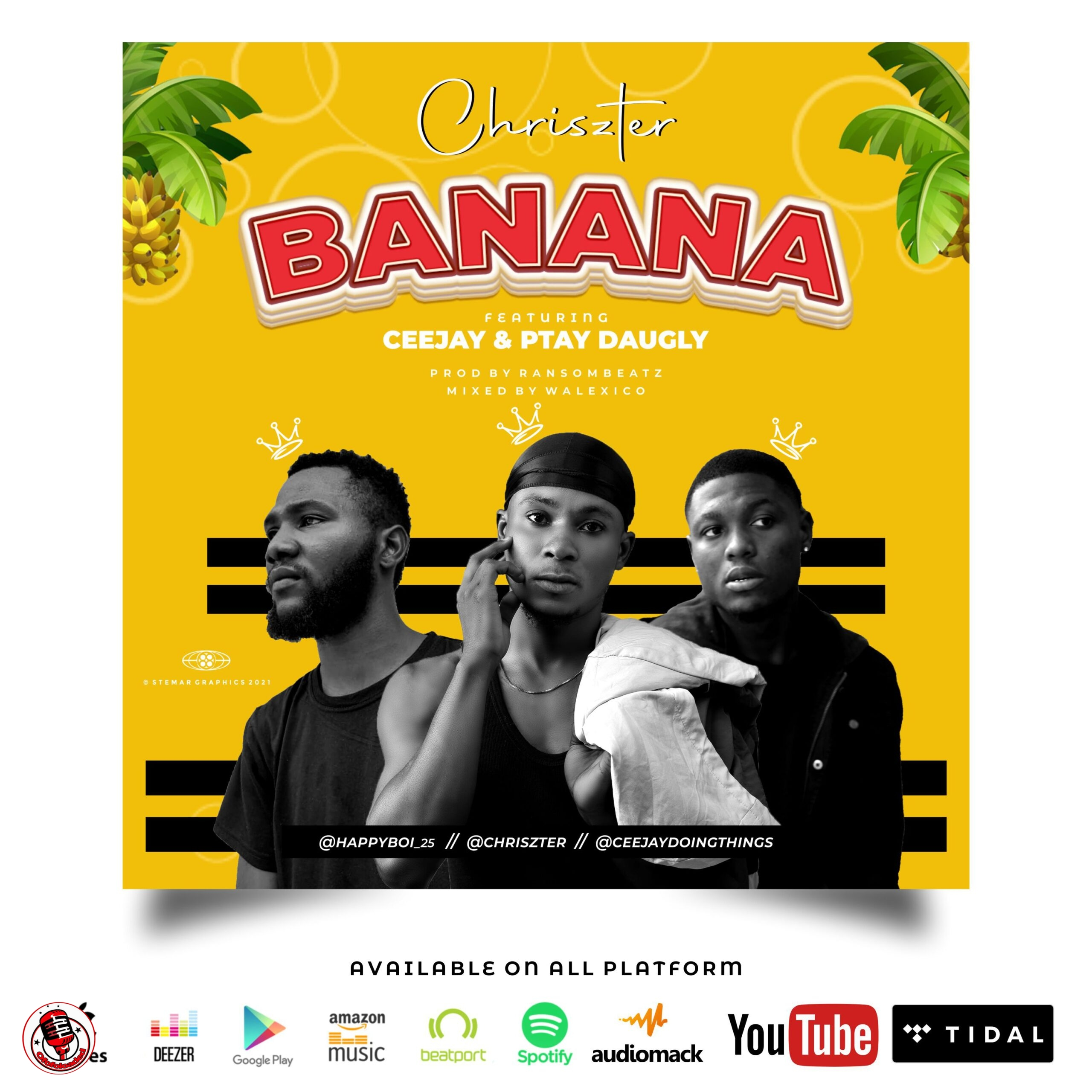 Chriszter ft. Ptay Daughly & Ceejay – Banana