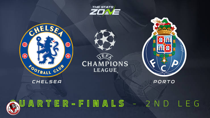 STREAM LIVE: Chelsea Vs FC Porto [Watch Now] CHAMPIONS LEAGUE 2020/2021 #CHEFCP #UCL #CFC #FOOTBALL min