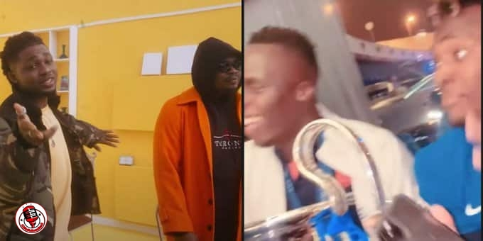 Chelsea Stars Celebrate Champions League Win With Olamide's Song Infinity  (Video)