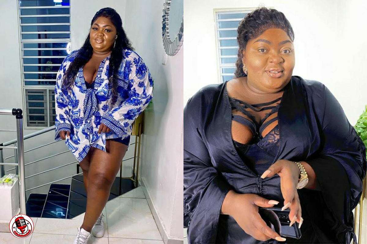 Lady Accuses Eniola Badmus Of Destroying Her Phone After Taking Photos With Her