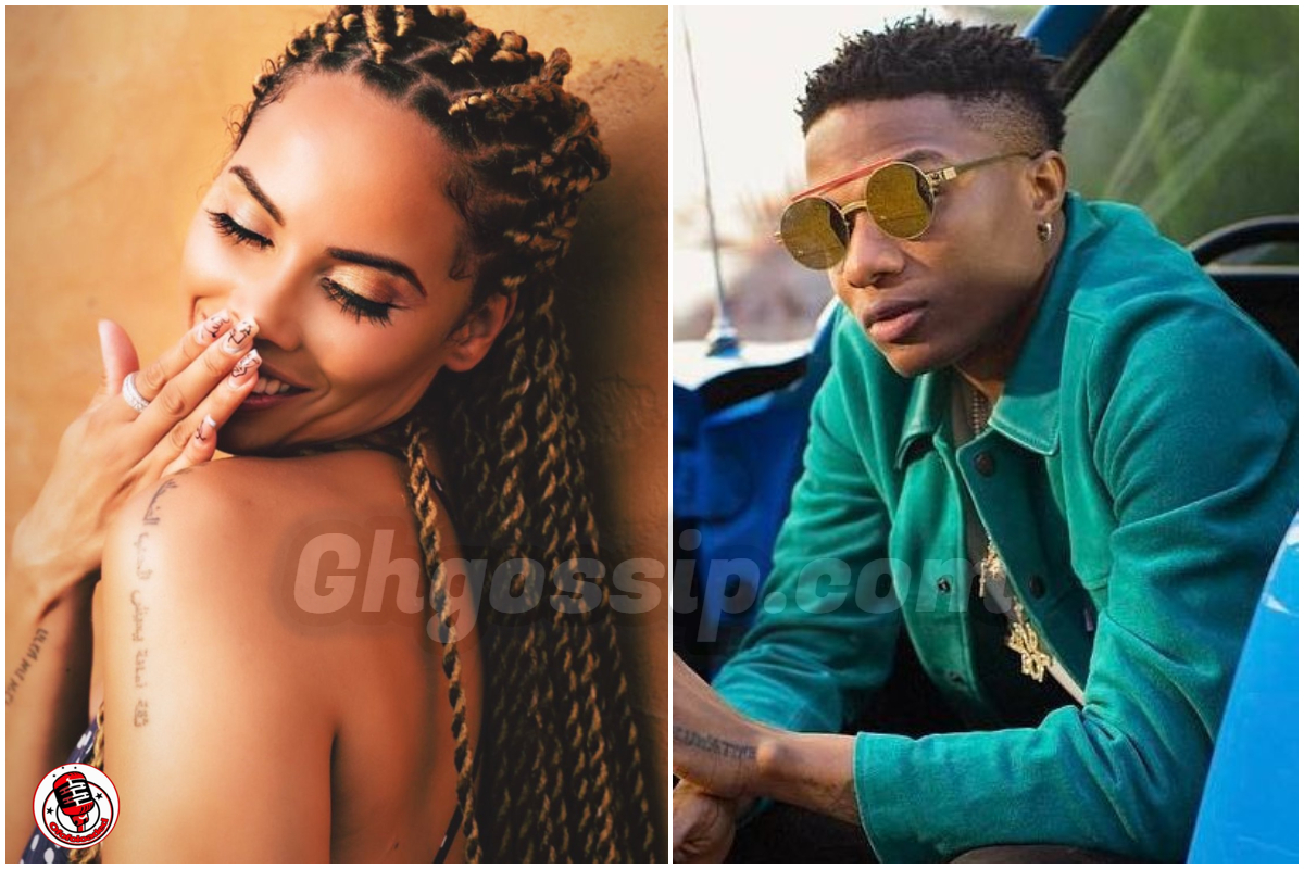 Wizkid Spotted Having Mad Fun With Baby Mama In Ghana