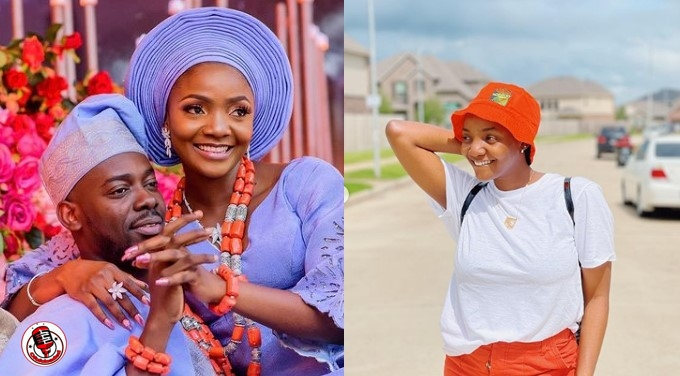 Adekunle Gold Reacts After His Wife, Simi Said Her Photographer Has Impregnated Her