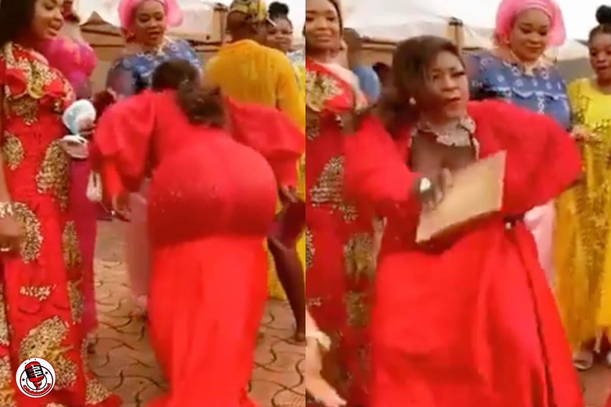 [VIDEO] Destiny Etiko Captured Shaking Her 'Heavy-Duty' Things At Her Back As She Jams To Some Local Songs