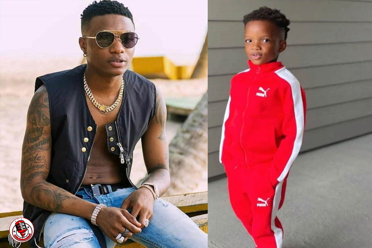 """""""Can't Believe Wizkid Was Doubting The Paternity, Look At This Boy"""" – Twitter User Reacts To Wizkid's 2nd Son Recent Photos"""
