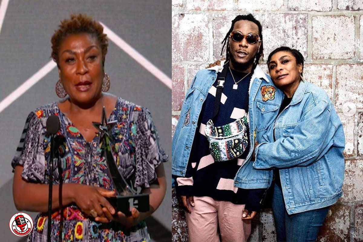 Burna Boy Allegedly Pushed And Almost Beat His Mom Because Of Drug Abuse – Blogger Claims min