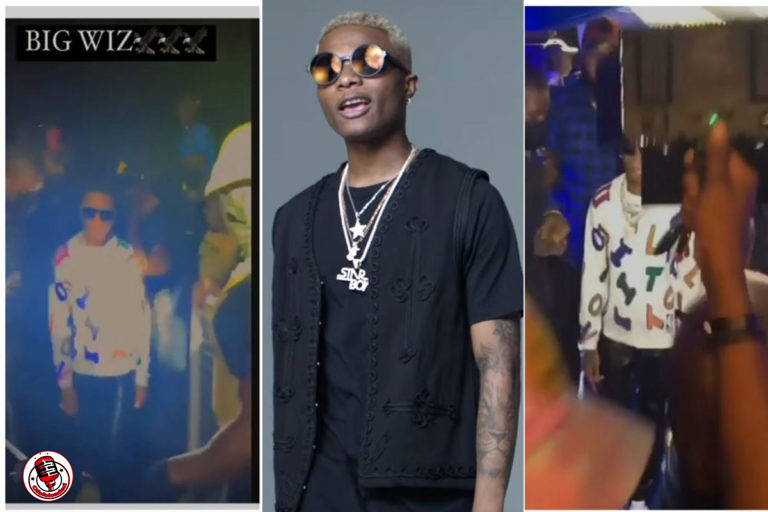 The Moment Wizkid Arrived In Abuja As Fans Scream In Excitement (VIDEO) min