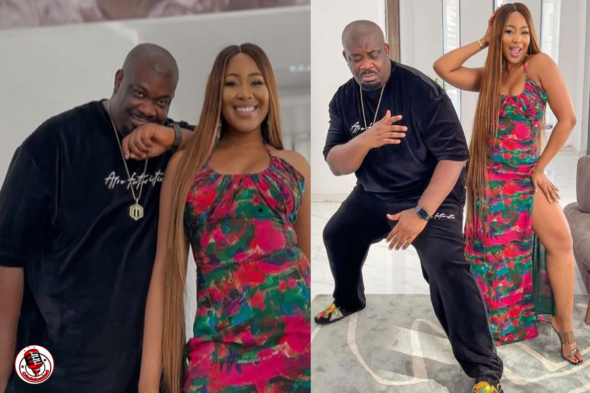 """""""I Really Need To Learn How To Pose"""" – Don Jazzy Says As He Strikes A Pose With Erica (PHOTOS)"""