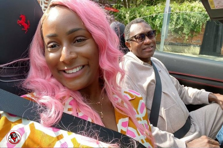 """""""I Beg For Money From My Dad"""" – DJ Cuppy List Things She Does With Femi Otedola (PHOTO) min"""